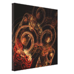 The Sound of Music Abstract Wrapped Canvas Print