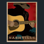 "The Sound of Nashville Postcard<br><div class=""desc"">Anderson Design Group is an award-winning illustration and design firm in Nashville,  Tennessee. Founder Joel Anderson directs a team of talented artists to create original poster art that looks like classic vintage advertising prints from the 1920s to the 1960s.</div>"