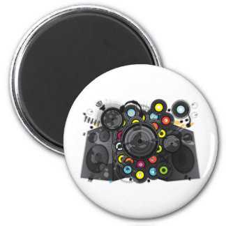 The_Sound_of_Silence 2 Inch Round Magnet
