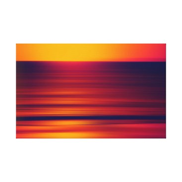 Beach Themed The sound of the evening canvas print