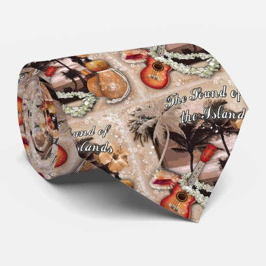 The Sound of the Islands Neck Tie