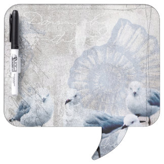 The sound of the ocean dry erase board