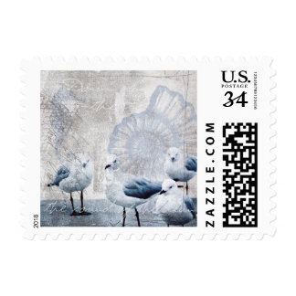 The sound of the ocean stamp