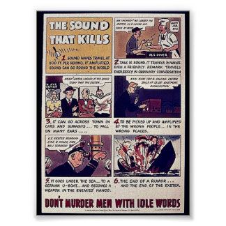 The Sound That Kills, Don't Murder Men With Idle W Poster