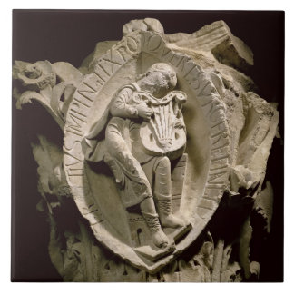 'The Sounds of Music', column capital from the amb Ceramic Tile