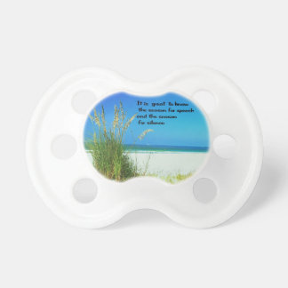 The sounds of Silence Pacifier