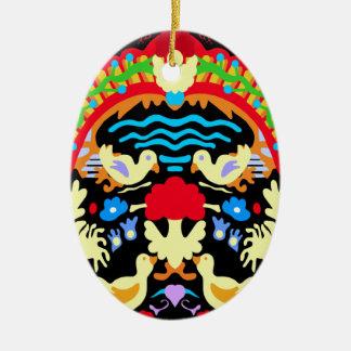 The source (6) ceramic ornament