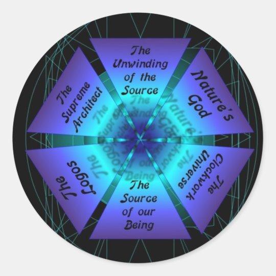 The Source Classic Round Sticker