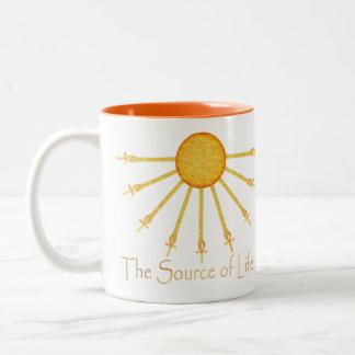 The Source of Life Egyptian Inspired Coffee Mug