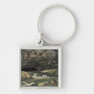 The Source of the Loue or La Grotte Sarrazine Key Chains
