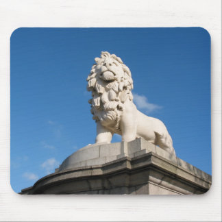 The South Bank Lion Mouse Pad