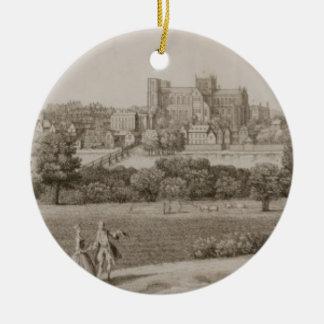 The South-East Prospect of Rippon, 1731-48 (line e Ceramic Ornament