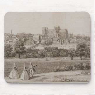 The South-East Prospect of Rippon, 1731-48 (line e Mouse Pad