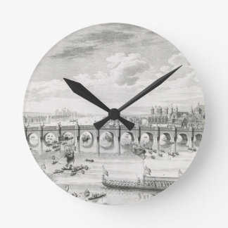 The South East Prospect of Westminster Bridge - Bo Round Clocks