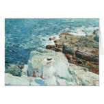 The South Ledges, Appledore by Childe Hassam Greeting Cards