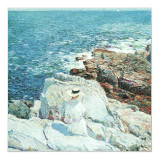 The South Ledges, Appledore by Childe Hassam Card