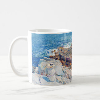 The South Ledges, Appledore by Childe Hassam Classic White Coffee Mug