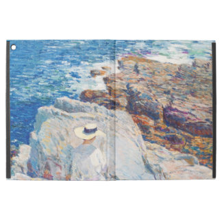 """The South Ledges, Appledore by Childe Hassam iPad Pro 12.9"""" Case"""