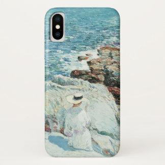 The South Ledges, Appledore by Childe Hassam iPhone X Case