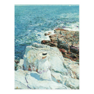 The South Ledges, Appledore by Childe Hassam Post Card