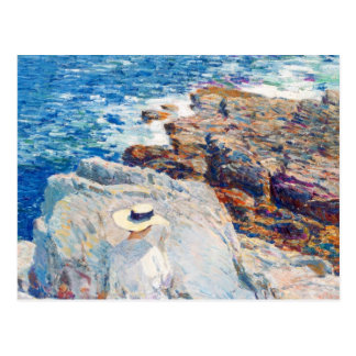 The South Ledges, Appledore by Childe Hassam Postcard