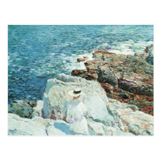 The South Ledges, Appledore by Childe Hassam Postcards