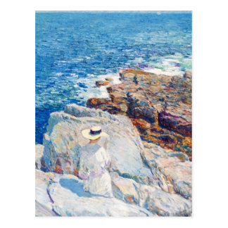 The South Ledges, Appledore by Childe Hassam Post Cards
