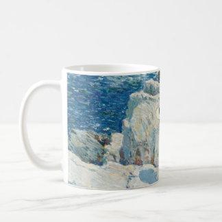 The South Ledges, Appledore - Childe Hassam Classic White Coffee Mug