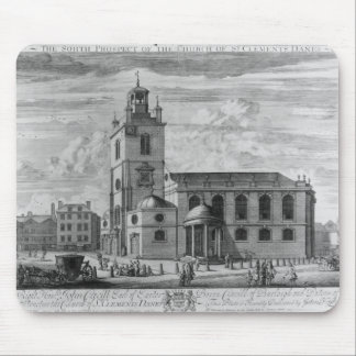 The South Prospect of the Church of St. Mouse Pad