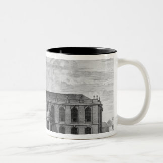 The South Prospect of the Church of St. Two-Tone Coffee Mug