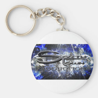 The South Town Crew Gear Basic Round Button Keychain