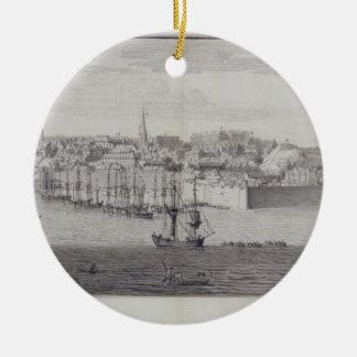 The South View of Berwick Upon Tweed, c.1743-45 (p Ceramic Ornament