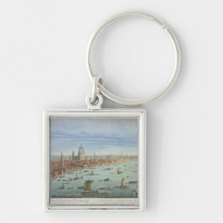 The South West Prospect of London, from Somerset G Keychain