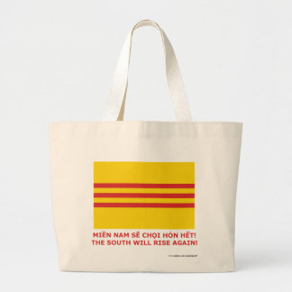 The South will rise again! South Vietnam, that is! Jumbo Tote Bag