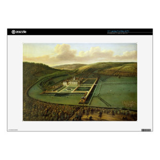 """The Southeast Prospect of Hampton Court, Herefords 15"""" Laptop Skin"""