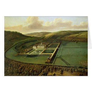 The Southeast Prospect of Hampton Court, Herefords Greeting Card