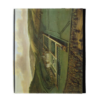 The Southeast Prospect of Hampton Court, Herefords iPad Folio Cover