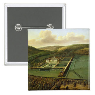 The Southeast Prospect of Hampton Court, Herefords Pinback Button