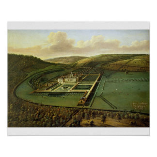 The Southeast Prospect of Hampton Court, Herefords Poster