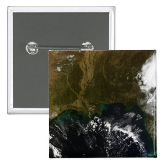The southeastern United States 2 Inch Square Button