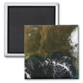 The southeastern United States 2 Inch Square Magnet