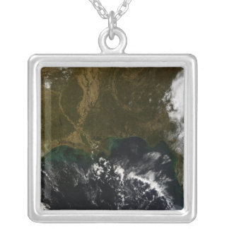 The southeastern United States Square Pendant Necklace