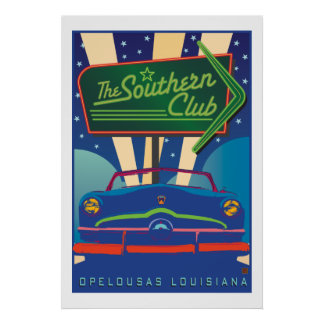 The Southern Club-Poster