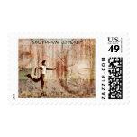 The Southpaw Sidearm Stamp