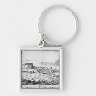 The Southside of the Castle of Edinburgh Keychain