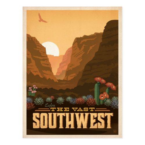 The Southwest  United States Postcard