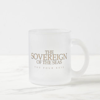 The Sovereign of the Seas Logo Frosted Mug