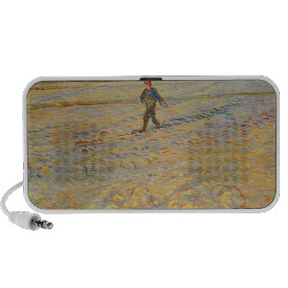 The Sower, 1888 (oil on canvas) Mini Speakers