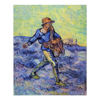 The Sower 1 by Vincent van Gogh Print