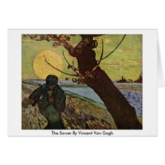 The Sower By Vincent Van Gogh Greeting Cards